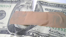 Moneywithbandaid